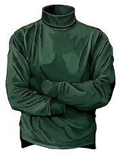 New XL Men's Duluth Trading Co Hunter Green Longtail T Mock Turtleneck #98707