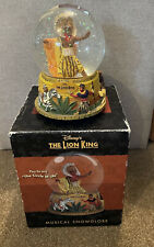 More details for disney the lion king broadway musical snowglobe boxed great xmas gift