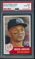 2018 Topps Living Set #49 Miguel Andujar RC Rookie PSA 10 Gem Mint SP Card