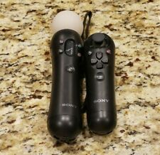 PS3/PS4 VR Sony Playstation Move Motion & Navigation Controller Combo