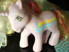 MY LITTLE PONY VINTAGE G1 RAINBOW CURL STREAKY MUSIC NOTE STARS RAINBOW BEAUTY