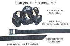 4er Set Spanngurt für Fahrradsicherung Ladungssicherung - Camping - Outdoor -KFZ