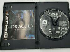 Drácula: el último santuario (Sony PlayStation 1, 2002) DISCO SUELTO Y Manual