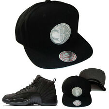 Mitchell & Ness Brooklyn Nets Snapback Hat Matches with Air Jordan 13 Wool Cap