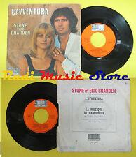 LP 45 7'' STONE ET ERIC CHARDEN L'avventura La musique de camioneur*no cd mc dvd