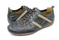 Cole Haan Men's Size 9 M Brown Leather Sneakers Lace Up Casual Shoes Loafer