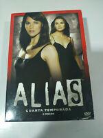 Alias Cuarta Segunda Temporada 4 Completa - 3 x DVD - Español ingles - 5T