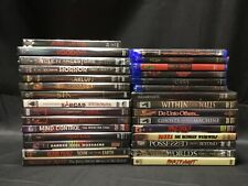 RARE Sealed Lot of (30) Horror / Science Fiction DVDs Blu-Rays - Troma Unearthed