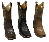 Genuine leather ladies cowboy western rodeo decorative shaft boots best prices