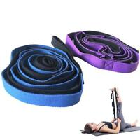 2m Sports Gym Yoga Stretch Strap Aerial Yoga Anti-Gravity Rope with Grip Loop