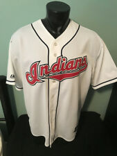 Cleveland Indians Majestic Jersey Mens size XL Tribe