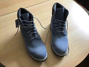 timberland Herren Schuhe, Boots, Wasserfest, Blau, Gr.50