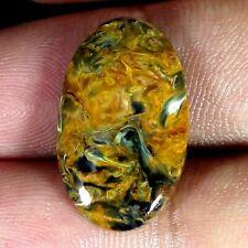 11,40 cts Pietersite dorée ovale 22*13*4mm (possibilité de monter une bélière)