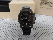 2016 New 100% Authentic Men's  Burberry Sports Wristwatch Chronograph  BU7716