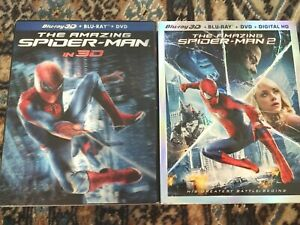 The Amazing Spider-Man 1 & 2 (3D Blu-ray/Blu-ray/DVD)
