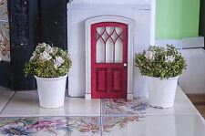 Puerta frontal de casa de muñecas, miniatura interna puerta de madera, juego imaginativo, Niños