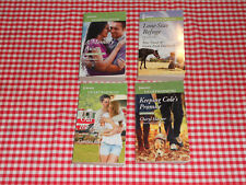 Lot 72  4 Harlequin Heartwarming Romance Books