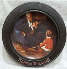 "Norman Rockwell ""The Tycoon'"" Heritage Collection - In Wood Frame"
