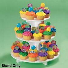 CUPCAKE Cake 3 Tier Tray Round  DIY WEDDING Shower Birthday PARTY