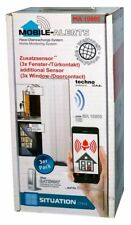 Technoline MA 10800 Mobile Alerts Fensterkontakt Zusatzsensoren 3er Set