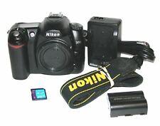 Nikon D50 6.1 MP Digital SLR Camera(Body Only) #4716 **Only 874 Shutter Clicks**