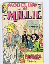 Modeling with Millie #36 Marvel Pub 1964
