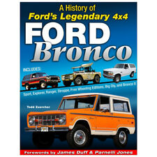 S-A BOOKS Book - History Of The Ford Bronco - 192 Page - Hardcover - Each CT634