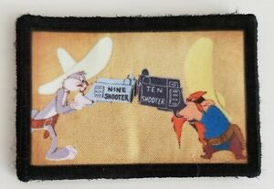 Yosemite Sam 10 Shooter Morale Patch Tactical Army Military USA Looney Tunes 2A