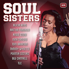 Soul Sisters  new cd 2-cd - Alicia Keys, Aretha Franklin, Angie Stone  and more