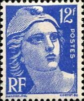 "FRANCE TIMBRE STAMP N°812 ""MARIANNE DE GANDON 12F"" NEUF X TB"
