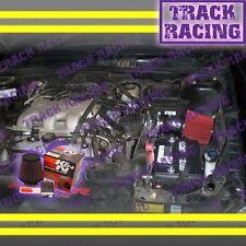 1996 1997 1998 PONTIAC GRAND AM 3.1L V6 AIR INTAKE KIT+K&N Black Red