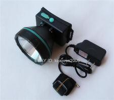 5W Power Blue LED Miner Light Headlight Mining Lamp For Hunting Camping Fishing