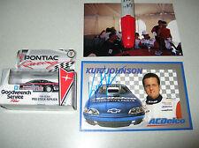 GM Performance Warren & Kurt Johnson NHRA CAR & Autograph card ACDelco chevrolet