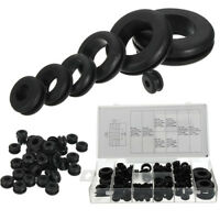 180Pcs Rubber Grommets Set Round Seals Assortment For Protects Wire Cable Hose