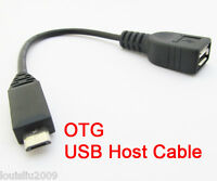 100pcs NEW Host OTG Cable Micro 5pin USB male to USB female Adapter Cable