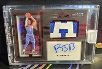 RJ Barrett 2019-20 Panini One And One Premium Rookie Patch Auto /25 Knicks