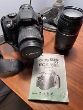 Canon Eos Digital Rebel Xt / Eos 350D Digital Slr Camera Kit Zoom 75-300