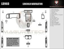 Fits Lincoln Navigator 2007-2014 4WD NO Navigation Basic Wood Dash Trim Kit