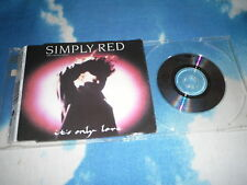 "SIMPLY RED GERMAN CD Single IT'S ONLY LOVE 3""  4 TRACK"