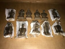 Bundle Lot of 11 Kelloggs Star Wars Bust Figures Statuettes from 1999