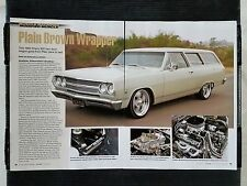 1965 Chevrolet Chevelle ZZ 383 Wagon - 6 Page Article - Free Shipping