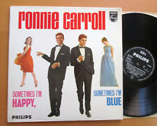 Ronnie Carroll Sometimes I'm Happy Sometimes I'm Blue 1963 Philips BL 7563 EX/EX