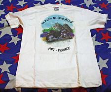 Vintage FRANCE H.O.G. Rally t shirt  Medium  short sleeve 1995 Harley HOG