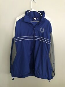 vintage Sports Illustrated Indianapolis Colts Full-Zip Jacket Size XL