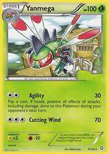 BW DRAGONS EXALTED POKEMON RARE CARD - YANMEGA 5/124