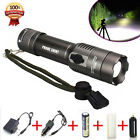 Tactical 5000LM XML T6 LED Flashlight Torch Light Lamp +18650 Battery + Charger