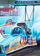 Blaine Johnson's Last Top Fuel Win! No.299/1000 Prints Drag Racing Art
