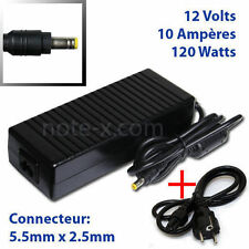 Adapter Power Supply for LCD monitor 12V 10A  STOCK 5.5mm*2.5mm LAptop Charger