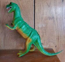 Vintage 1985 Imperial Tyrannosaurus T-Rex Dinosaur Green/Tan Rare chinasaurus