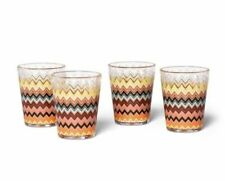 Missoni For Target Tumblers 20th Anniversary Collection 14oz 4 Cups